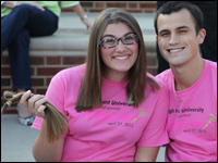 HPU High Point University Cuts for Cancer