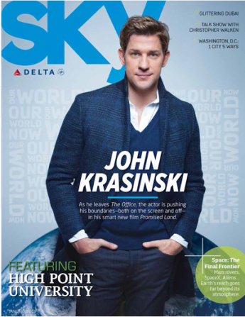 Sky Magazine Feature: January 2013