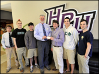 HPU's Delta Sigma Phi Fraternity Gives To Red Cross
