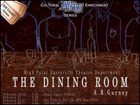 HPU Theatre To Feature 'The Dining Room'