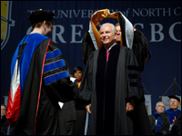 HPU President Qubein Receives Honorary Doctorate From UNCG