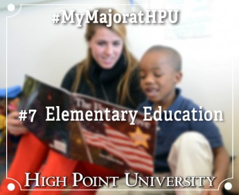 My Major At HPU: Elementary Education