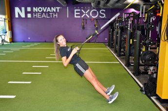 Internship Profile: Lexi Vitale Provides Performance Programming at Novant Health