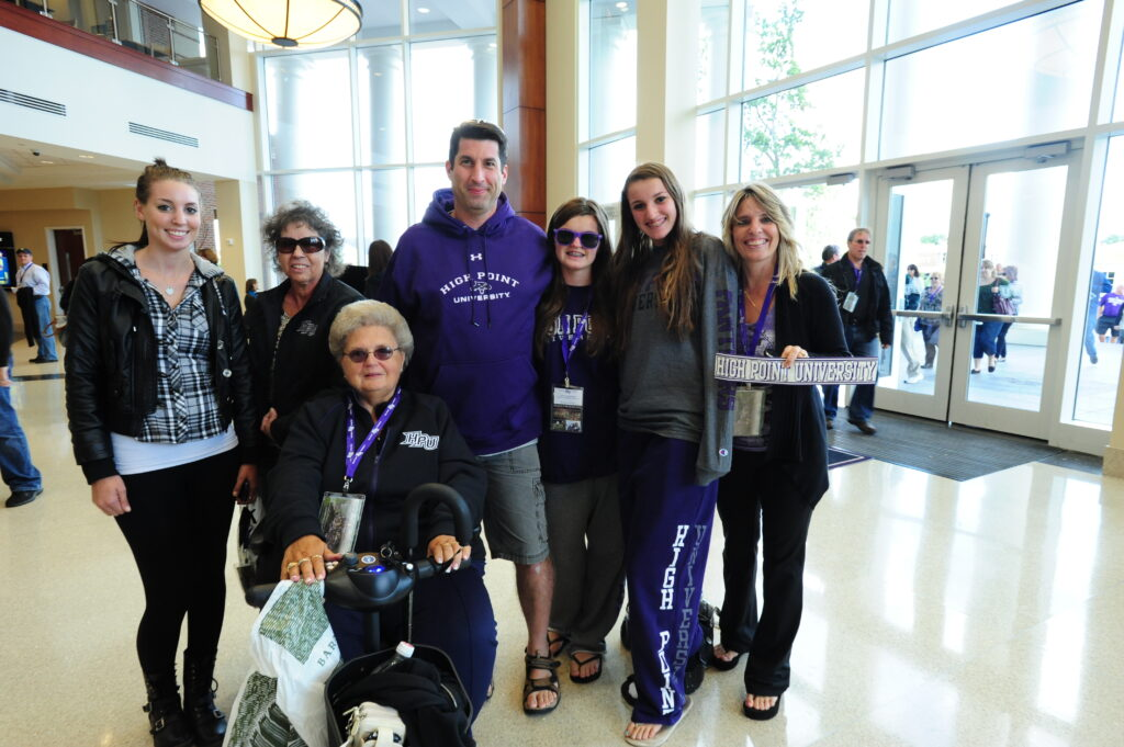 High Point University's Family Weekend