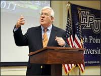 HPU Hosts Annual Finch Lecture Featuring Dr. Luke Johnson
