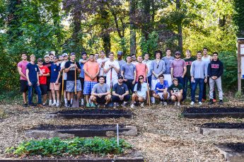 HPU Greek Life Serves Elementary School Garden