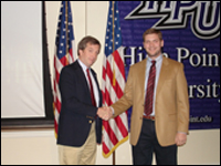 HPU Senior Receives Two Accounting Scholarships