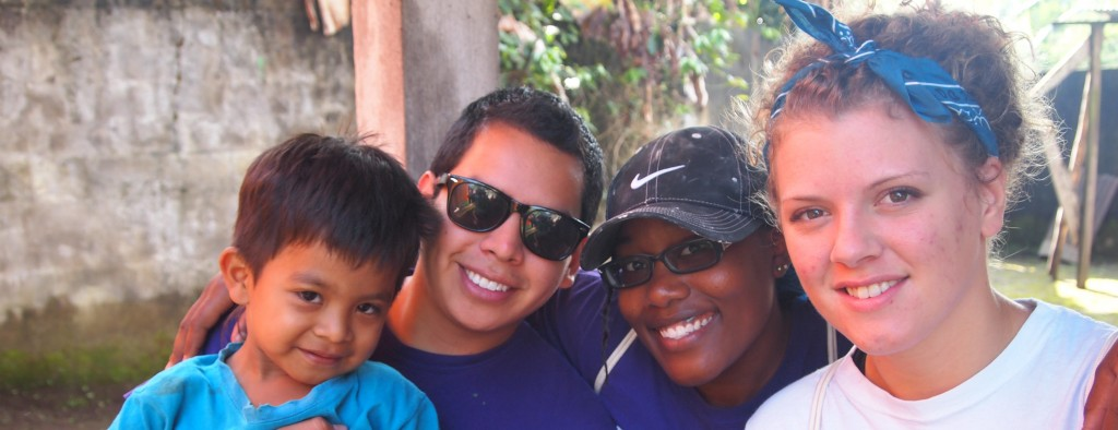 High Point University Students in Guatemala