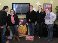 HPU Residence Halls Get Festive In The Name Of Charity