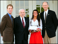 HPU Names Ashley  Holleran The 2010 Haverty Cup Recipient