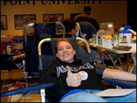 High Point University Hosts Blood Drive