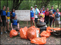 HPU Students Participate In Dan River Cleanup