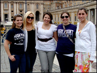 HPU Students, Faculty Experience Hands-On Learning In Italy