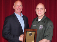 Head Of Security And Transportation Receives Honor