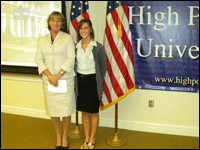 HPU Student Receives Ollie Bieniemy Jr. Endowed Scholarship
