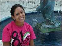 Rising Senior Dives into Marine Biology Internship in Florida