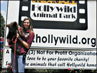 Biology Major Cares for Exotic Species at Hollywild Animal Park
