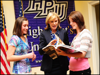 HPU Hosts HGTV Interior Design Expert Libby Langdon