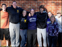 Professor and Physical Education Students Present at Sport Management Conference