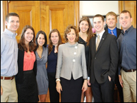 Students Gain Political Insight During 'Maymester' in Washington, D.C.