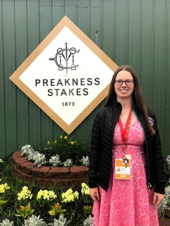 Class of 2018 Outcomes: Eleanor Albert Coordinates Marketing at the Maryland Jockey Club