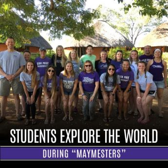Students Explore the World During Maymesters