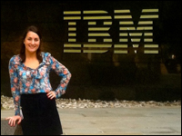 Student Collaborates With Executives At IBM As Part Of Internship