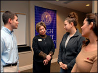 HPU Marketing Students Get Visit From President Of Archdale Trinity Chamber Of Commerce
