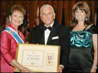 HPU President Nido Qubein Presented with DAR Americanism Medal Award