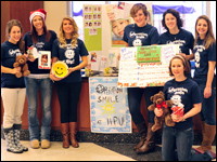 Student Club Makes a Difference by 'Creating Smiles, Changing Lives'