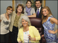 HPU Students Meet Celebrity Chef Paula Deen While Working At High Point Market