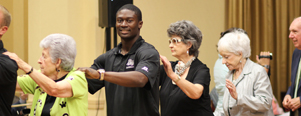 High Point University Baseball Players Attend Pennybyrn's Homecoming Dance