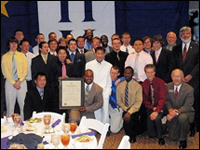 HPU Fraternity Participates In Leadership Conference