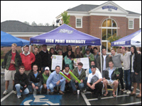 Pi Kappa Alpha  At HPU Holds Fundraiser For Muscular Dystrophy Awareness