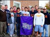 HPU's Pi Kappa Alpha Holds 'Turkey Bowl' For Charity