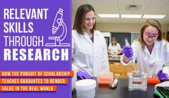 Relevant Skills Through Research