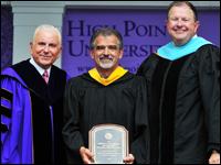 Roger Shore Receives Slane Distinguished Teaching-Service Award