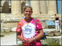 HPU Student Learns About Ancient Greece While Studying Abroad