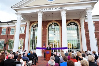 Grand Opening for LEED-Certified School of Education
