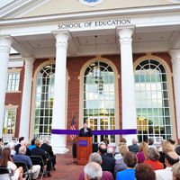High Point University School of Ed Opening