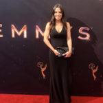 HPU graduate Samantha Garrison attends the Emmy Awards