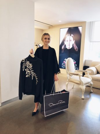 Internship Profile: Sophia Brown Selected for Oscar de la Renta E-Commerce Position