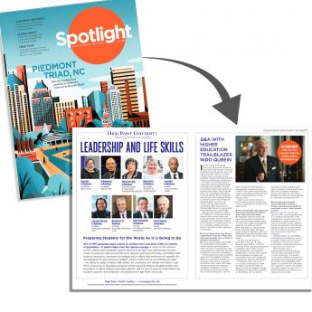 HPU Highlighted in American Airlines Magazine
