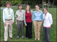 HPU Students Attend Society Of Physics Student Meeting; Present Posters