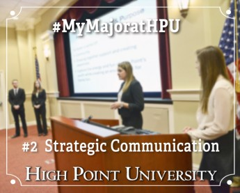 My Major at HPU: Strategic Communication