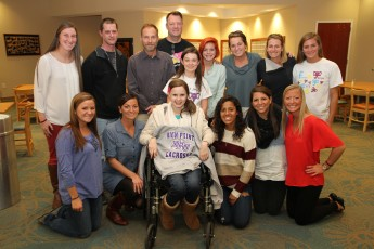 HPU Women's Lacrosse Adopts Makayla Compton through Friends of Jaclyn