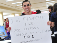 The Gratitude Project: Students Document What They're Thankful For