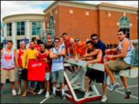 HPU Fraternity Hosts Seesaw-A-Thon, Raises Funds For American Diabetes Association