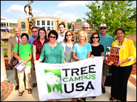 HPU Earns 'Tree Campus USA' Title