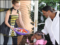 HPU Hosts Children In Big Brothers Big Sisters, Boys And Girls Club Of High Point For Trick-Or-Treat